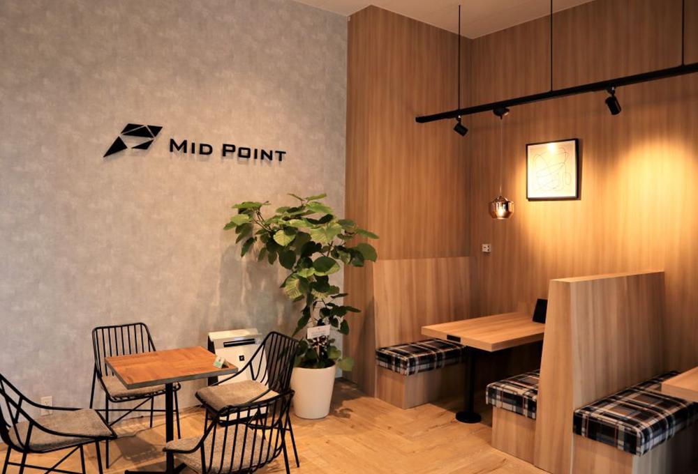 『MID POINT 武蔵小杉』は、2020年6月に竣工された『Kosugi 3rd Avenue』内にあり、武蔵小杉駅から徒歩2分と好立地。